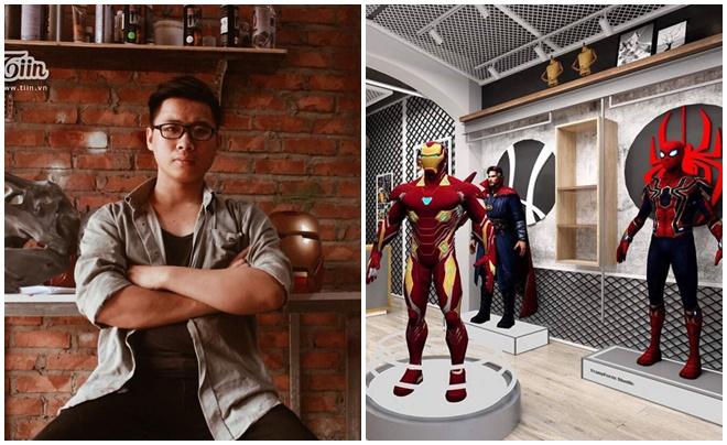 Bỏ học theo đuổi đam mê siêu nhân, robot, anh chàng 9x gọi được vốn tiền tỷ để mở công ty
