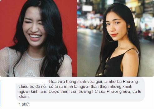 """Bị so sánh với Bích Phương, fan Hòa Minzy nổi cáu phán """"Hòa tài năng, thông minh hơn, không lố như Phương""""!"""