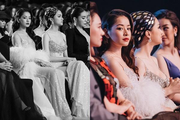 Khi Chi Pu - Hương Giang ngồi bên nhau nhan sắc chẳng ai kém ai, nhưng nhìn xuống dưới cứ thấy sai sai