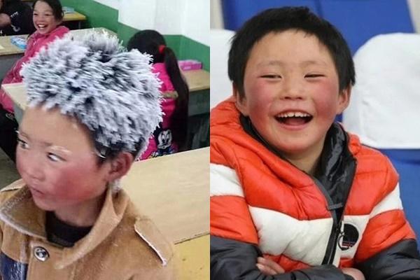Hơn 1 năm lay động trái tim cả thế giới, cậu bé tóc bạc phơ vì đi học trong tuyết giờ ra sao?