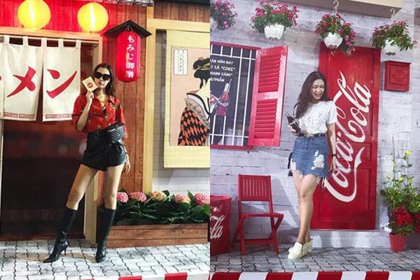 """Giới trẻ Hà thành đang đổ xô đi chụp hình """"background"""" Tết để giành đúng ngày là """"bung lụa"""""""