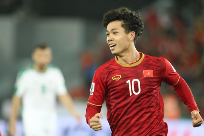 Công Phượng bất ngờ được bình chọn là Cầu thủ hay nhất trong ngày thứ tư của Asian Cup 2019
