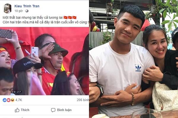 """Việt Nam thua Iraq, fan thắc mắc không đăng status bảo vệ Đức Chinh, chị quản lý lại gây war: """"Nó làm gì mà phải bảo vệ nó?"""""""
