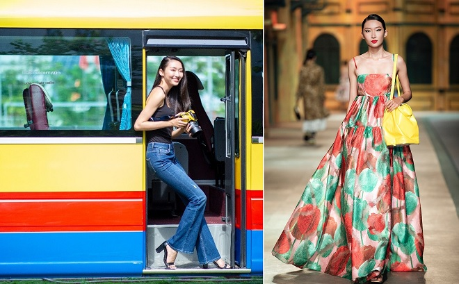 Tân Miss HUTECH 2019 gây ấn tượng với thần thái và chiều cao tựa các siêu mẫu châu Á