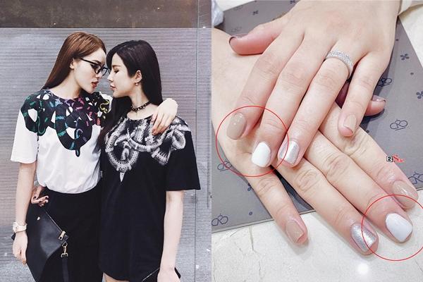 Quảng cáo cho tiệm nail của Kỳ Duyên, Diệp Lâm Anh khiến fans ngán ngẩm vì bộ móng vừa mắc vừa thấy ghê