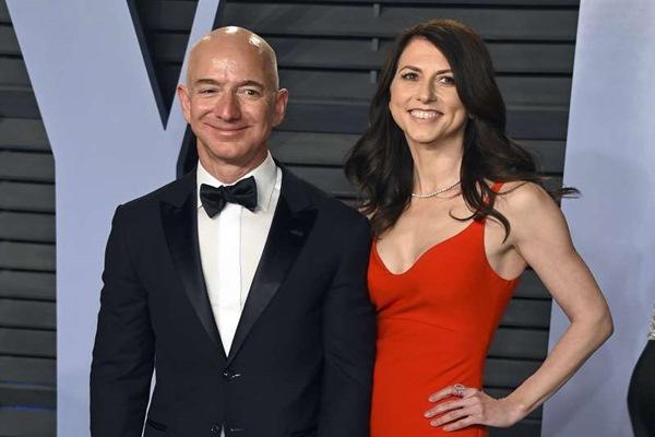 Vợ của tỷ phú Jeff Bezos có thể trở thành người phụ nữ giàu nhất thế giới sau khi ly hôn