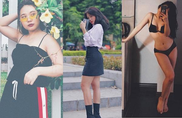 """3 tháng giảm 17kg, cô nàng 9x đã """"lột xác"""" thành hot girl dáng chuẩn như người mẫu khiến nhiều anh chàng mê mệt"""
