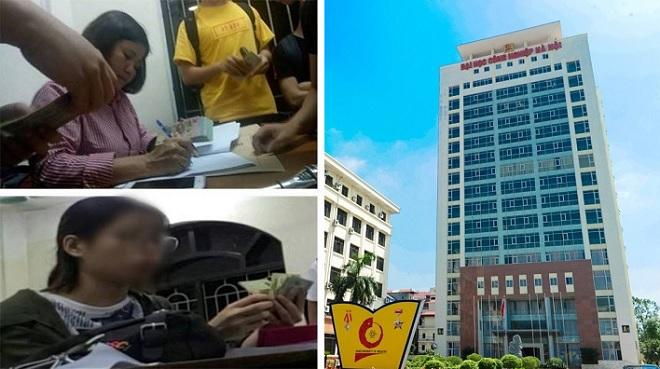 """""""Chống trượt"""" ngoại ngữ ở Đại học Công nghiệp Hà Nội: Hàng loạt cán bộ, giảng viên bị kỷ luật"""