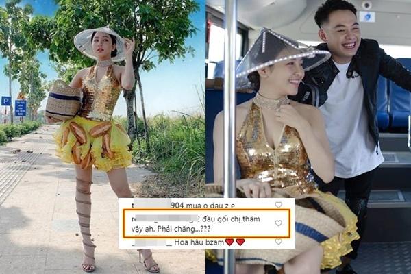 Lại là Trâm Anh: Cosplay Hoa hậu bánh mì của HHen Niê nhưng dân mạng chỉ nhìn 2 đầu gối của cô nàng