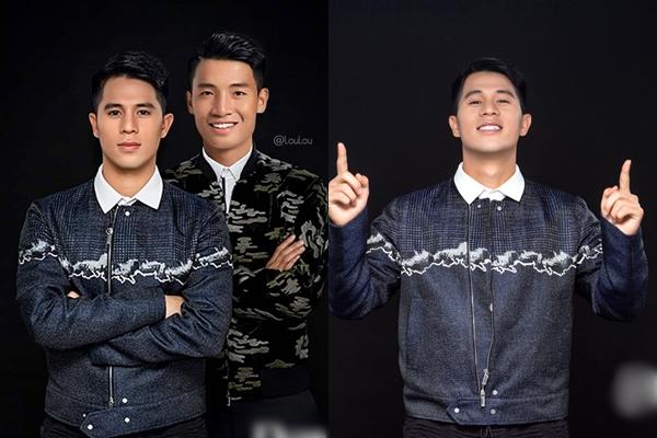 Bị photoshop vội với Tiến Dũng, Đình Trọng vẫn chiếm hết spotlight của đồng đội nhờ gương mặt hoàn hảo