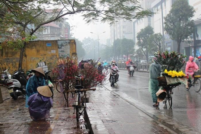 Từ nay đến Tết Nguyên đán, mỗi tuần có một đợt không khí lạnh kèm rét đậm và mưa phùn