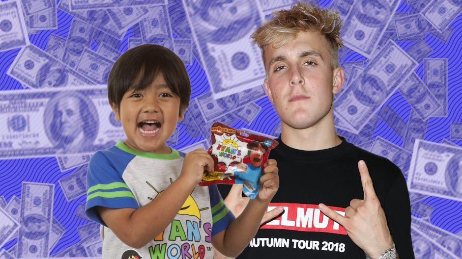 """Điểm mặt 10 Youtuber kiếm tiền nhiều nhất năm 2018: Cậu nhóc """"khoe"""" đồ chơi lên vị trí số 1"""