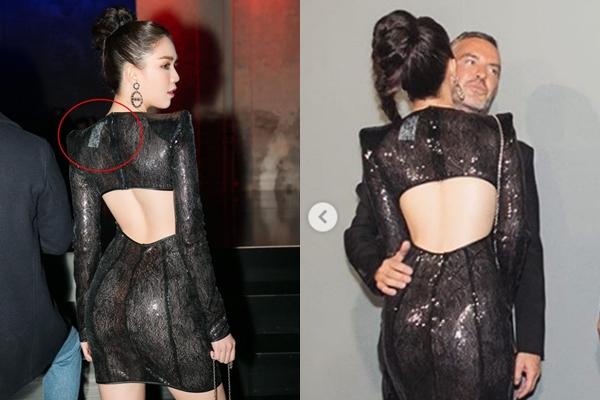 Tưởng sang chảnh đi Milan dự show, Ngọc Trinh cũng chỉ mặc váy không dám cắt mác?