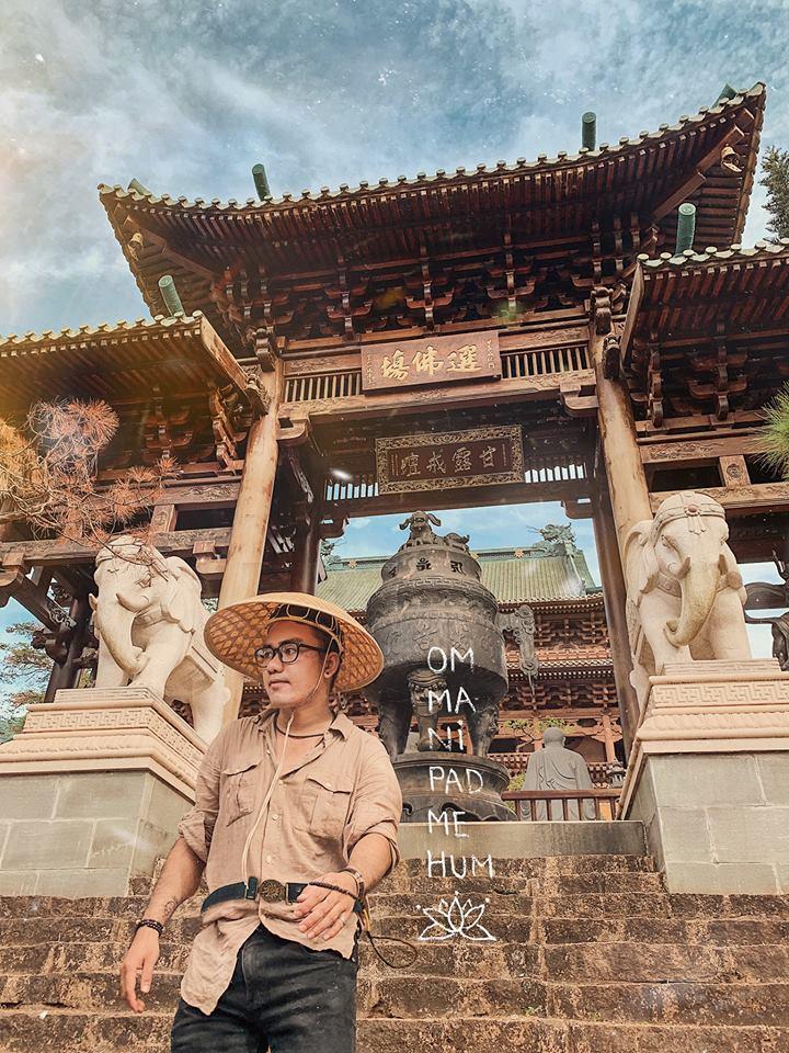 Đừng bỏ lỡ ngôi chùa Nhật Bản độc đáo này khi tới Kon Tum nhé!