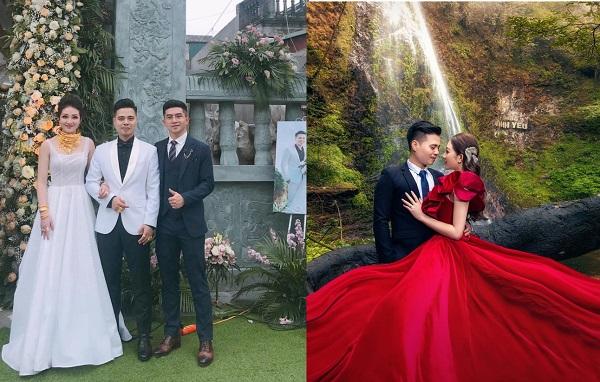 """Ngắm bộ ảnh cưới lung linh trị giá 200 triệu của cặp đôi có gia thế khủng, cô dâu """"vàng đeo trĩu cổ"""" tại Nam Định"""