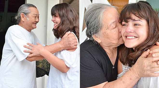 Cô gái con lai Pháp về Việt Nam tìm cha: Khóc trong vòng tay ông bà nội, hóa ra cha đang ở Pháp