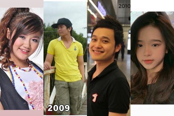 Theo trào lưu ảnh 10 năm, nhưng Linh Ka chỉ dám đăng ảnh chụp từ 3-4 năm trước