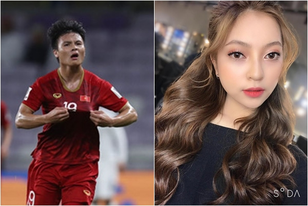 """Quang Hải vừa lập công, bạn gái hotgirl đã có cách ăn mừng """"liên quan"""" thế này đây"""
