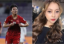 Quang Hải vừa lập công, bạn gái hotgirl đã có cách ăn mừng