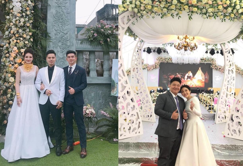 """Góc thính cực mạnh: Cô dâu """"vàng đeo trĩu cổ"""" tại Nam Định có em trai vẫn còn FA, đang du học nước ngoài"""