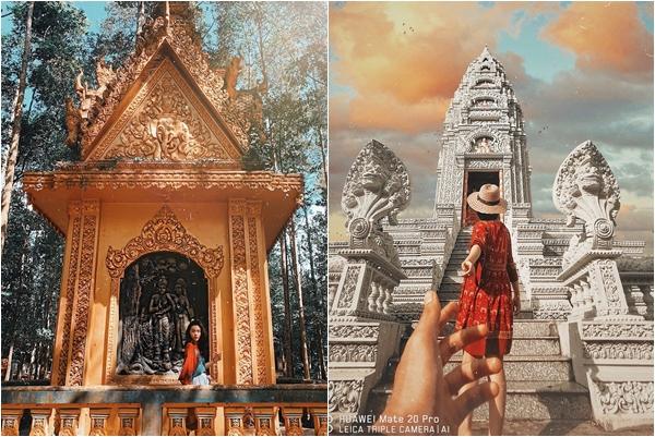 """Ngỡ chỉ có ở Thái Lan, nào ngờ loạt ngôi chùa tại Sóc Trăng còn đẹp hơn """"bản gốc"""""""
