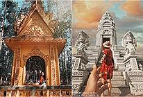 Ngỡ chỉ có ở Thái Lan, nào ngờ loạt ngôi chùa tại Sóc Trăng còn đẹp hơn