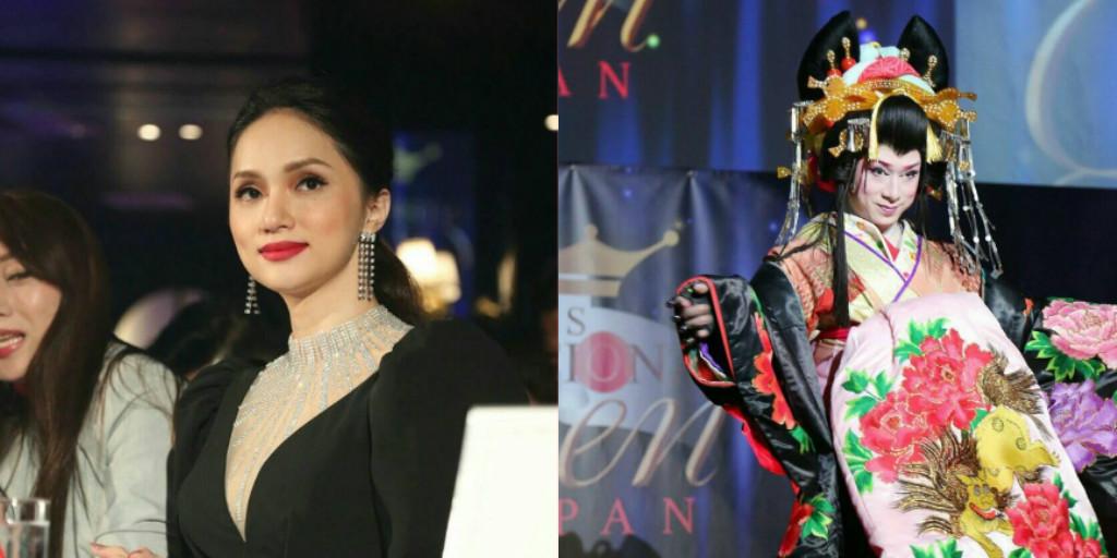 Hương Giang xinh đẹp, nổi bật đến nỗi chấm thi Hoa hậu chuyển giới Nhật Bản cả hội trường chỉ nhìn BGK