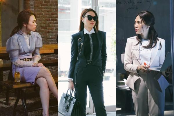 """Tan chảy với loạt trang phục đậm mùi """"girl-boss"""" của chị đại Mỹ Tâm trong """"Chị trợ lý của anh"""""""