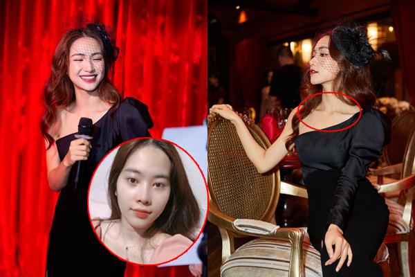 Hậu scandal, Hòa Minzy lộ khuôn mặt hốc hác như hồi Nam Em, nhưng vẫn cố gượng cười méo mó