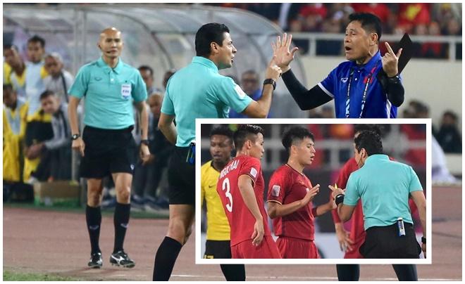 Trọng tài bắt chính trận Việt Nam - Jordan là người đã trút cơn mưa thẻ tại chung kết AFF Cup 2018