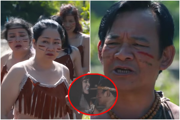 """Bị chỉ trích vì """"lần mò"""" gái trẻ trong Hài Tết, Quang Tèo đáp trả: """"Thi sắc đẹp cũng thế thôi"""""""