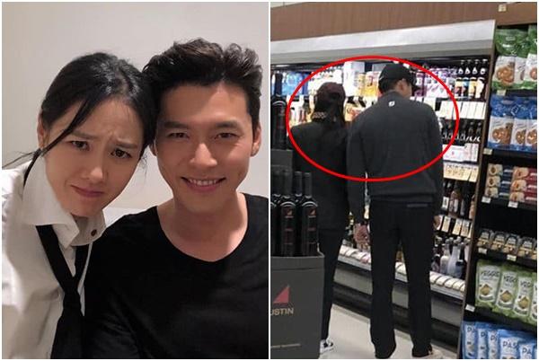 """Lộ ảnh Hyun Bin - Son Ye Jin lén gặp nhau trong siêu thị - cặp đôi """"già cả"""" quyền lực tiếp theo?"""