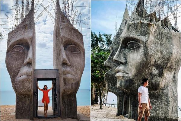 """Phát hiện """"cổng trời view biển"""" đẹp không góc chết khiến dân tình ngỡ lạc lối Bali"""