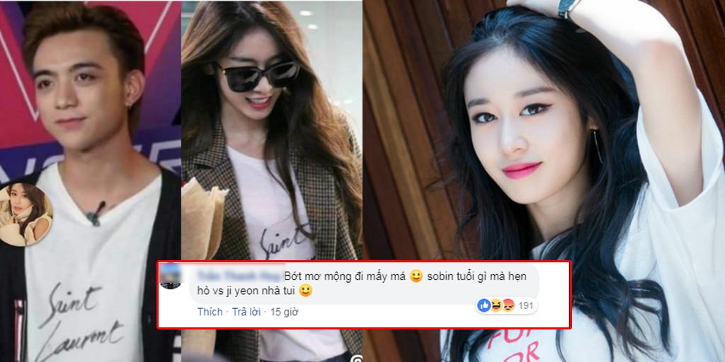 """Lộ bằng chứng hẹn hò với Jiyeon, fans mỉa mai """"Soobin Hoàng Sơn đừng mơ trèo cao""""!"""