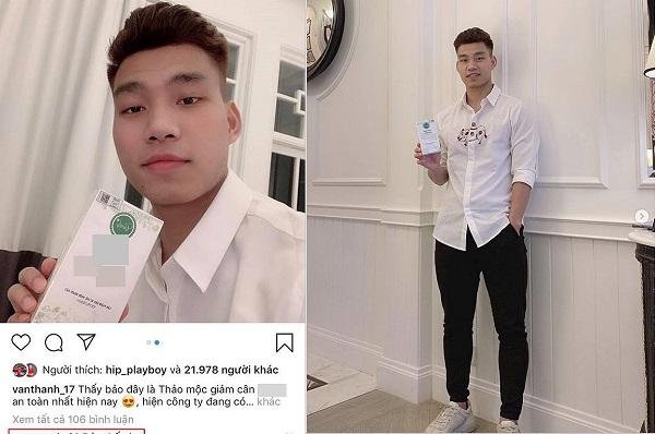 """Mon men đăng quảng cáo thuốc giảm cân, Văn Thanh không ngờ bị Quế Ngọc Hải vào bình luận """"đạp đổ"""""""