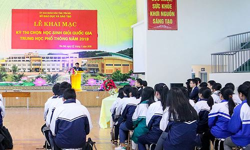 Phát hiện thí sinh đạt giải Ba kỳ thi Học sinh giỏi quốc gia nhờ được nâng điểm không lý do