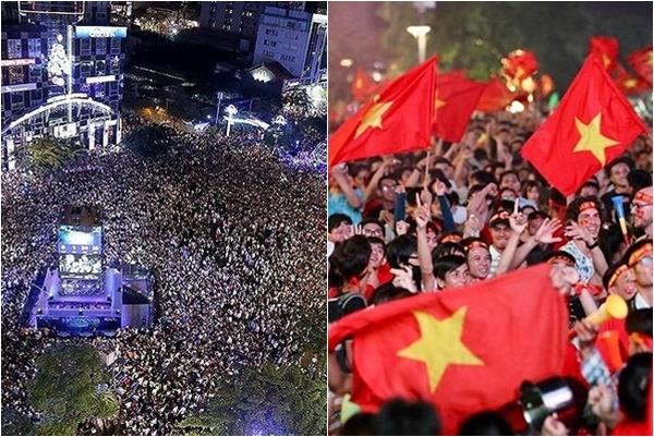 """Cổ vũ trận đội tuyển Việt Nam tại Tứ kết, TP.HCM """"chơi lớn"""", cấm đường lắp 5 màn hình LED tại địa điểm này"""