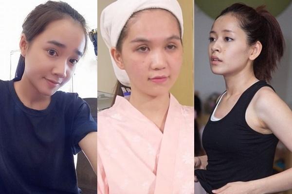 Mỹ nhân Việt thiếu son: Người xinh đẹp như khi son phấn, người lộ môi thâm, da sần sùi