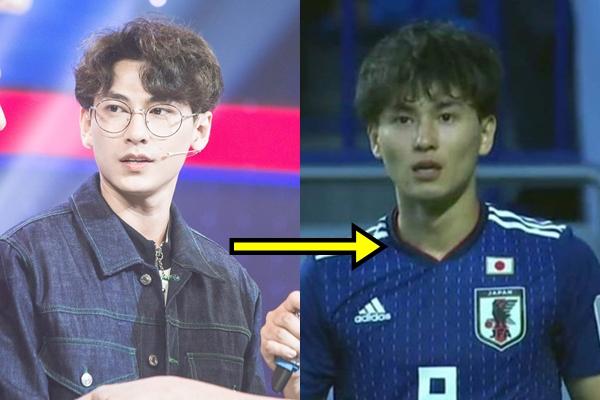 """Isaac bỗng bị CĐM """"réo tên"""" liên tục vì quá giống cầu thủ Nhật Bản, nhìn mãi thấy giống thật khác mỗi cái mặt thôi"""