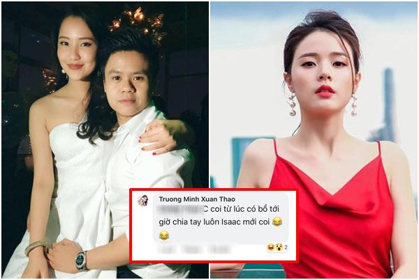 """Phản ứng thông minh của MiDu khi """"rich kid"""" Primmy Trương xác nhận chấm dứt với Phan Thành!"""