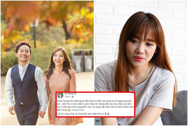 Sau cưới, Tiến Đạt và vợ tung ảnh lãng mạn tại quê nhà Hari Won, chúc sinh nhật ngọt ngào