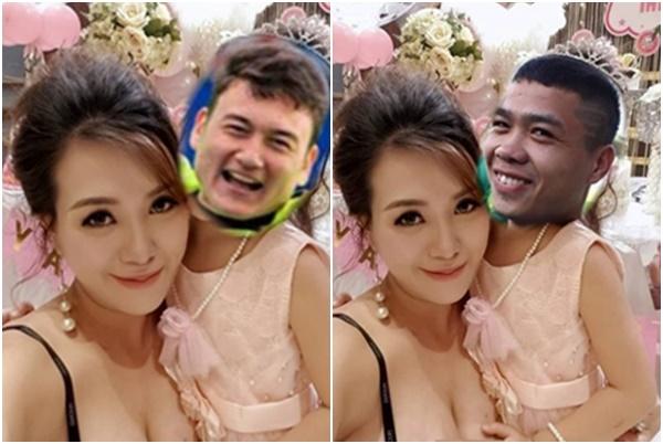 Chế ảnh nhạy cảm ôm ấp Lâm Tây - Công Phượng, hot girl Mai Thỏ bị chửi cay nghiệt