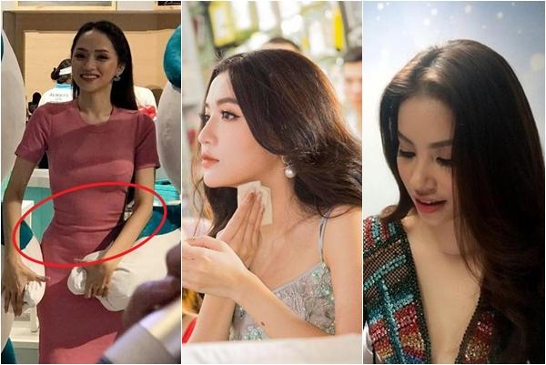 Bị ống kính nghiệp dư chụp được, hoàn hảo như Hương Giang cũng lộ khuyết điểm mỡ thừa
