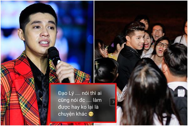 """Noo Phước Thịnh mâu thuẫn với fan, dằn mặt cực thâm vì bị """"đâm sau lưng"""" một nhát quá đau"""