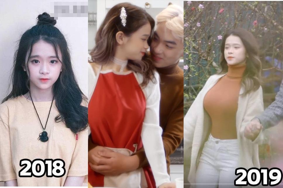 Linh Ka tung MV Xuân ngọt ngào cùng bạn trai nhưng dân mạng chỉ chú ý đến vòng 1 thay đổi chóng mặt của cô nàng