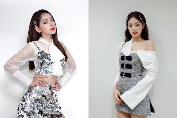 """Chi Pu đăng hình khoe style mới, CĐM bất ngờ """"réo"""" tên Jennie (Black Pink)"""