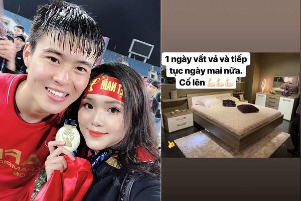 """Vừa mua được nhà mới, Duy Mạnh đã tiết lộ ý định muốn kết hôn sớm với Quỳnh Anh nếu """"ông trời se duyên"""""""