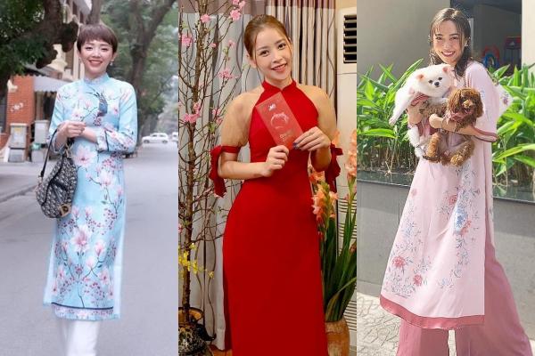 Dàn mỹ nhân Việt xúng xính áo dài ngày đầu xuân Kỷ Hợi: Ai mới là người đẹp và đẳng cấp hơn?