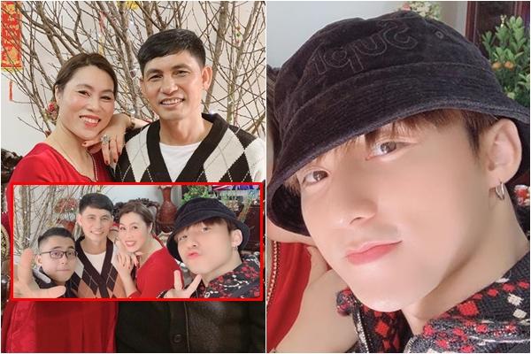 Sơn Tùng M-TP khoe ảnh năm mới nhưng bị gia đình chiếm hết spotlight vì ba mẹ quá đẹp