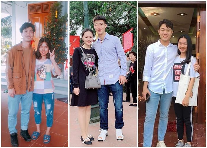 """Trang phục Tết của cầu thủ Việt Nam: người cool ngầu, người giản dị, căp đôi Mạnh """"gắt"""" và Quỳnh Anh nổi bật"""